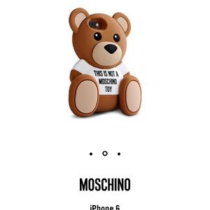 Moschino Bear iPhone 6/6S case
